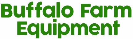 Buffalo Farm Equipment